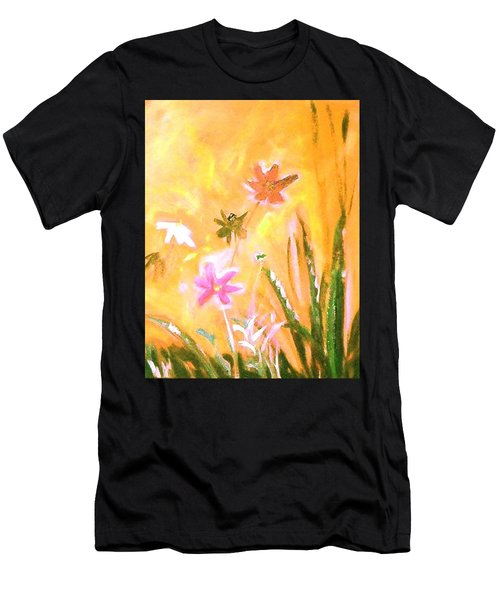 New Daisies Men's T-Shirt (Athletic Fit)