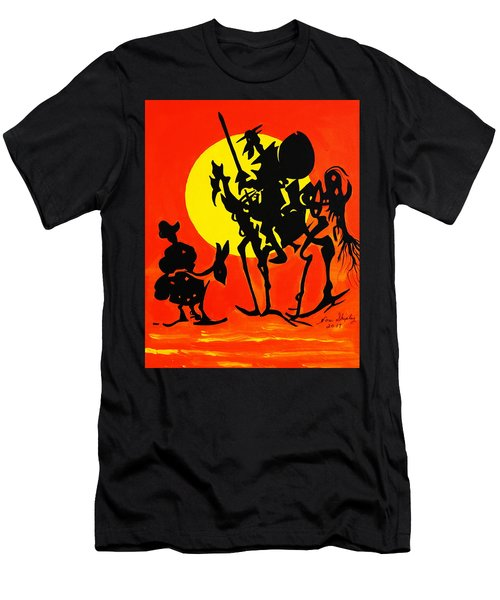 New Don Quixote Men's T-Shirt (Athletic Fit)