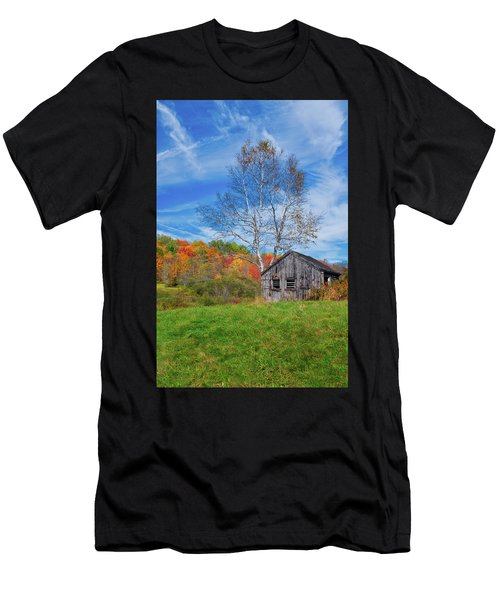 New England Fall Foliage Men's T-Shirt (Athletic Fit)