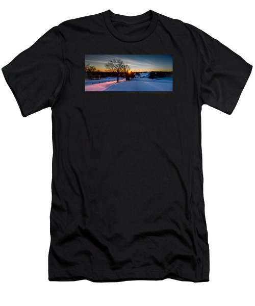 New England Sunrise Men's T-Shirt (Athletic Fit)
