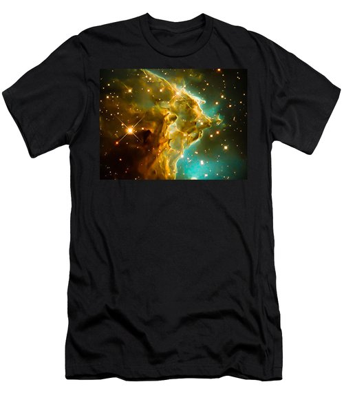 New Hubble Image Of Ngc 2174 Men's T-Shirt (Athletic Fit)