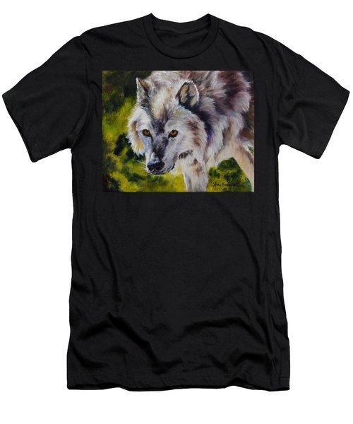 New Kid On The Block Men's T-Shirt (Slim Fit) by Lori Brackett