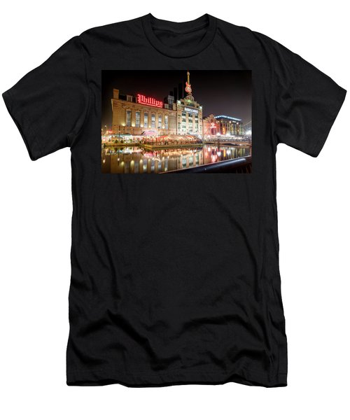 New Life Of Old Power Plant Men's T-Shirt (Athletic Fit)