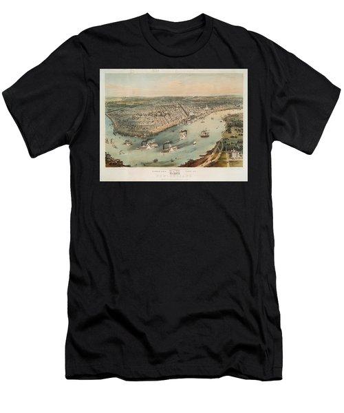 New Orleans 1851 Men's T-Shirt (Athletic Fit)