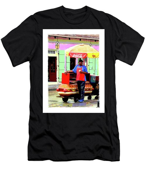 New Orleans Hotdog Vendor Men's T-Shirt (Athletic Fit)