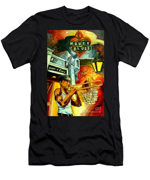 New Orleans' House Of Blues Men's T-Shirt (Athletic Fit)