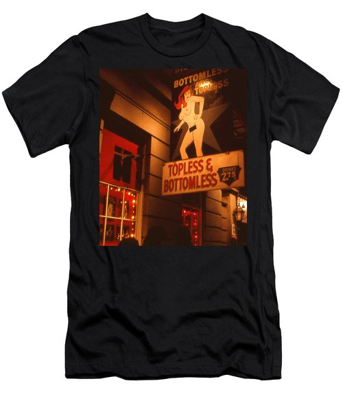 New Orleans Topless Bottomless Sexy Men's T-Shirt (Athletic Fit)