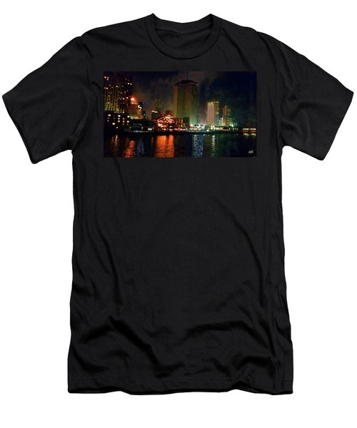 New Orleans Waterfront Men's T-Shirt (Athletic Fit)