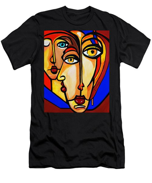 New Picasso By Nora Friends Men's T-Shirt (Athletic Fit)