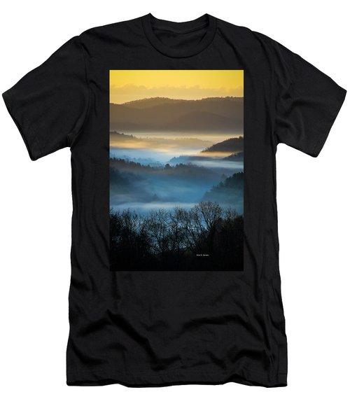 New River Fog Men's T-Shirt (Athletic Fit)