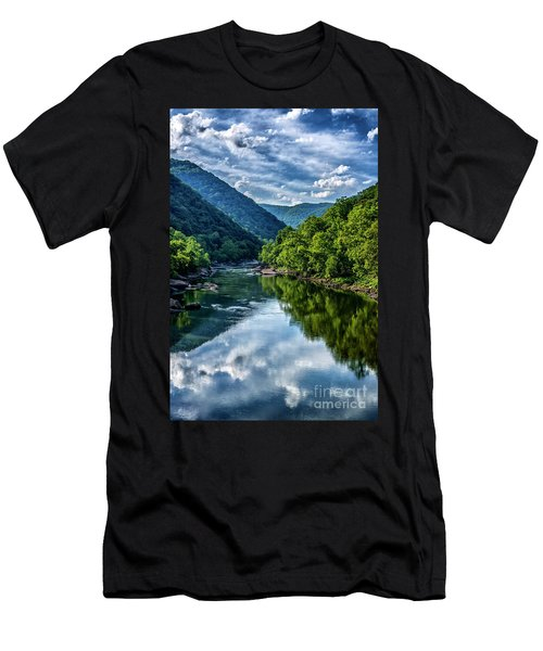 New River Gorge National River 3 Men's T-Shirt (Athletic Fit)