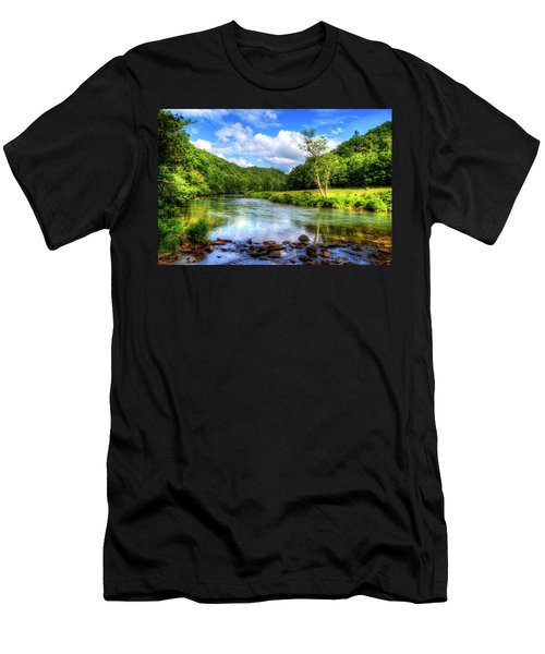 New River Summer Men's T-Shirt (Athletic Fit)