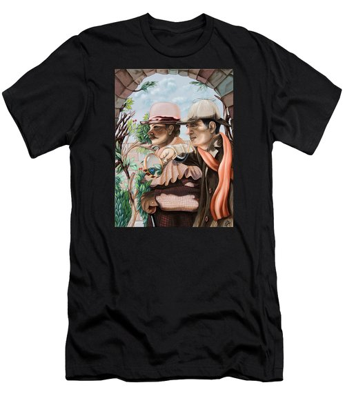 New Story By Sir Arthur Conan Doyle About Sherlock Holmes Men's T-Shirt (Athletic Fit)