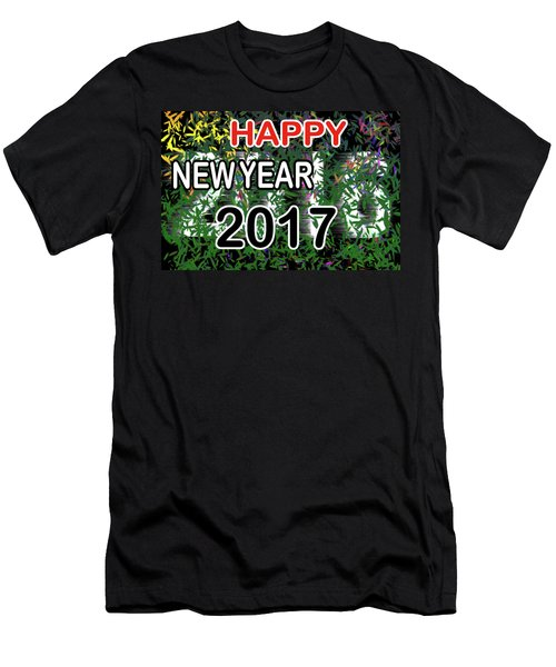 New Year Men's T-Shirt (Athletic Fit)