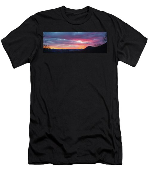 New Year Dawn - 2016 December 31 Men's T-Shirt (Athletic Fit)