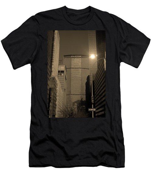New York City 1982 Sepia Series - #7 Men's T-Shirt (Athletic Fit)