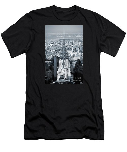 New York City - Usa - Chrysler Building Men's T-Shirt (Athletic Fit)
