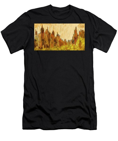 New York City In The Fall Men's T-Shirt (Athletic Fit)