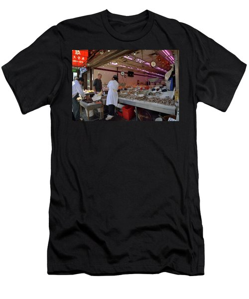 Men's T-Shirt (Athletic Fit) featuring the photograph New York, New York 17 by Ron Cline