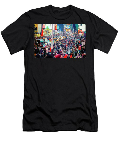 New York Times Square Men's T-Shirt (Athletic Fit)