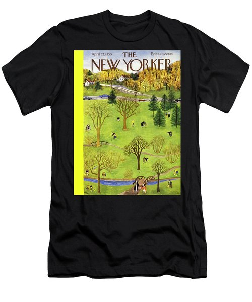 New Yorker April 22 1950 Men's T-Shirt (Athletic Fit)