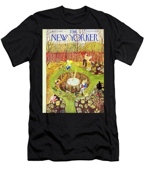 New Yorker April 23 1949 Men's T-Shirt (Athletic Fit)