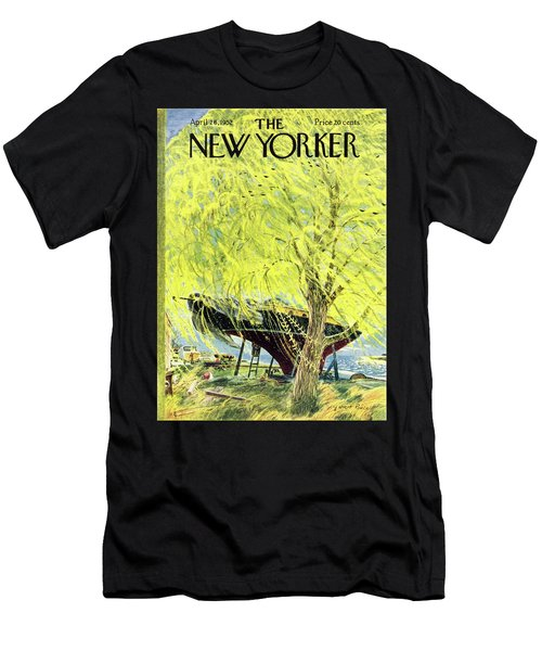 New Yorker April 26 1952 Men's T-Shirt (Athletic Fit)