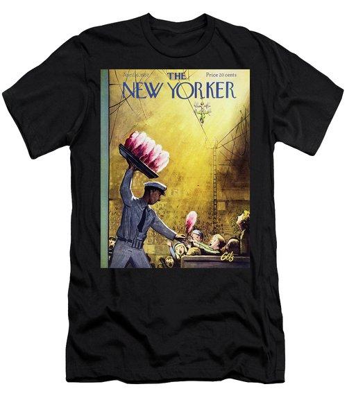 New Yorker April 6 1957 Men's T-Shirt (Athletic Fit)
