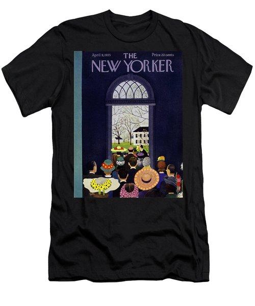 New Yorker April 9 1955 Men's T-Shirt (Athletic Fit)