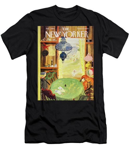 New Yorker August 1 1959 Men's T-Shirt (Athletic Fit)