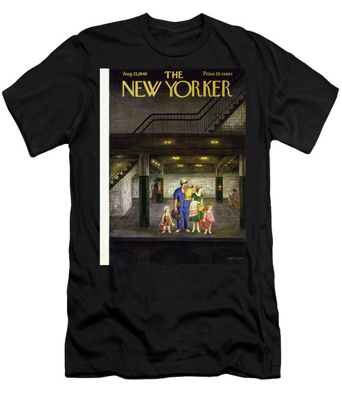 New Yorker August 13 1949 Men's T-Shirt (Athletic Fit)