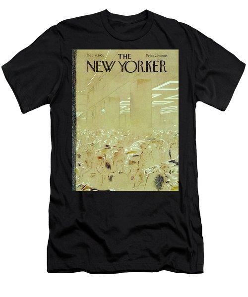 New Yorker December 8 1956 Men's T-Shirt (Athletic Fit)