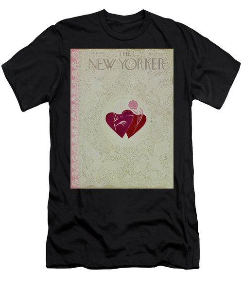 New Yorker February 16 1952 Men's T-Shirt (Athletic Fit)