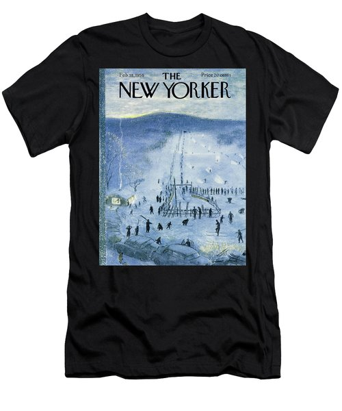 New Yorker February 18 1956 Men's T-Shirt (Athletic Fit)