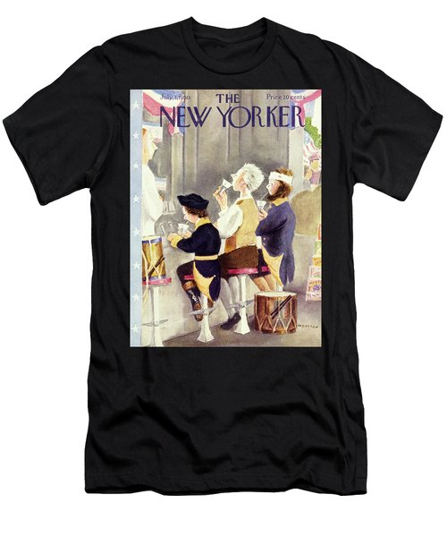 New Yorker July 1 1950 Men's T-Shirt (Athletic Fit)