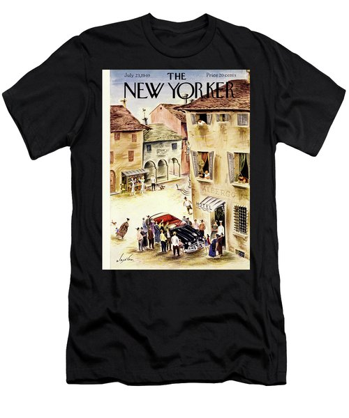 New Yorker July 23 1949 Men's T-Shirt (Athletic Fit)