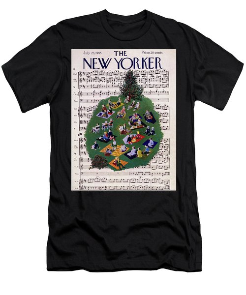 New Yorker July 23 1955 Men's T-Shirt (Athletic Fit)