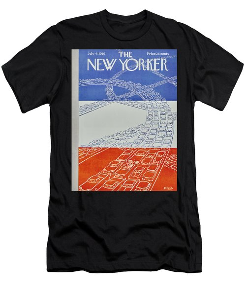 New Yorker July 4 1959 Men's T-Shirt (Athletic Fit)