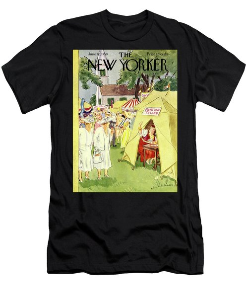 New Yorker June 10 1950 Men's T-Shirt (Athletic Fit)