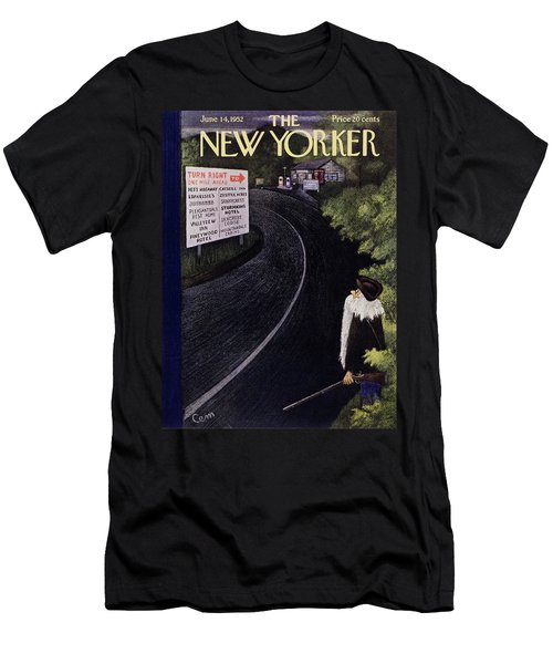 New Yorker June 14 1952 Men's T-Shirt (Athletic Fit)