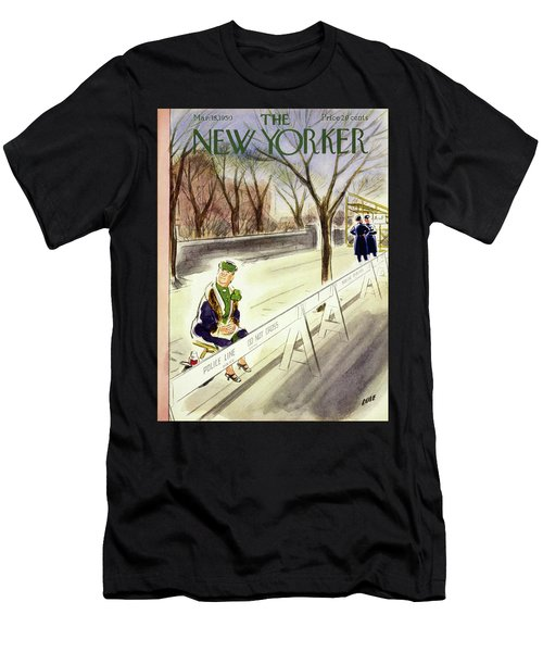 New Yorker March 18 1950 Men's T-Shirt (Athletic Fit)