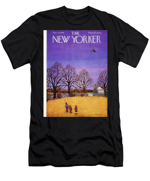 New Yorker March 26, 1955 Men's T-Shirt (Athletic Fit)