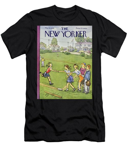 New Yorker May 10 1958 Men's T-Shirt (Athletic Fit)