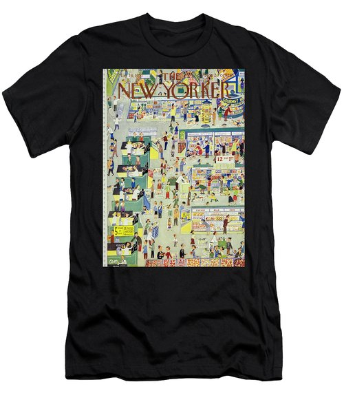 New Yorker May 18th 1957 Men's T-Shirt (Athletic Fit)