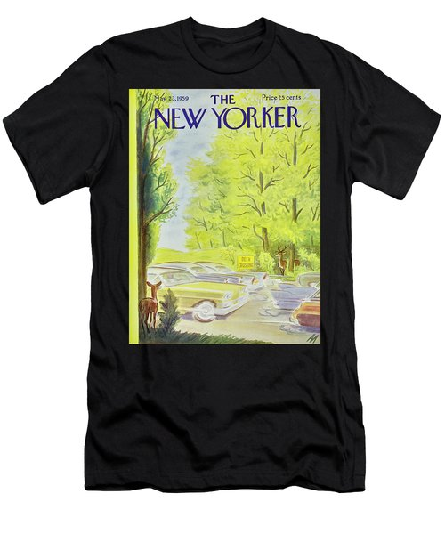 New Yorker May 23 1959 Men's T-Shirt (Athletic Fit)