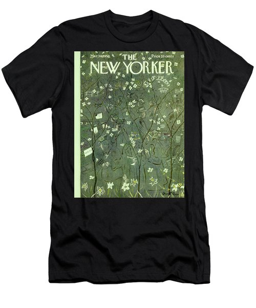 New Yorker March 30 1957 Men's T-Shirt (Athletic Fit)