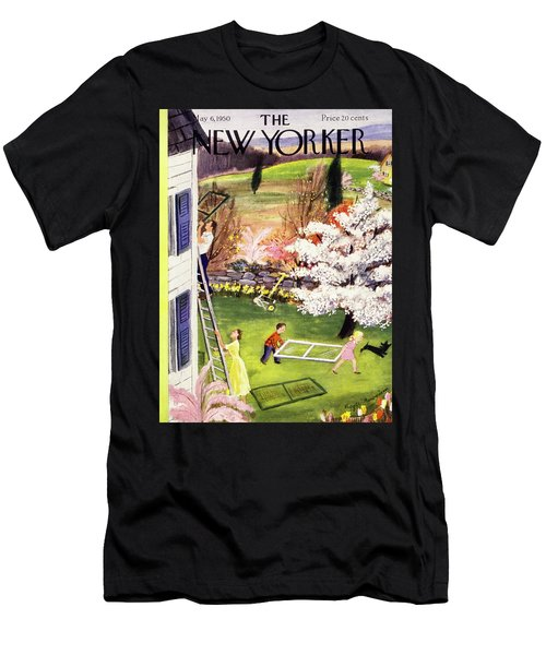 New Yorker May 6 1950 Men's T-Shirt (Athletic Fit)