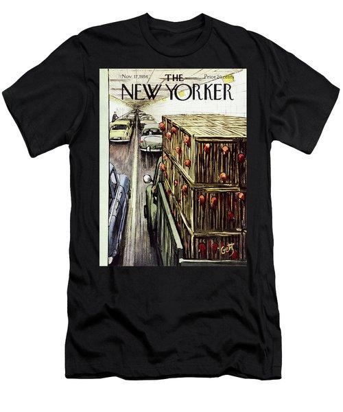 New Yorker November 17 1956 Men's T-Shirt (Athletic Fit)