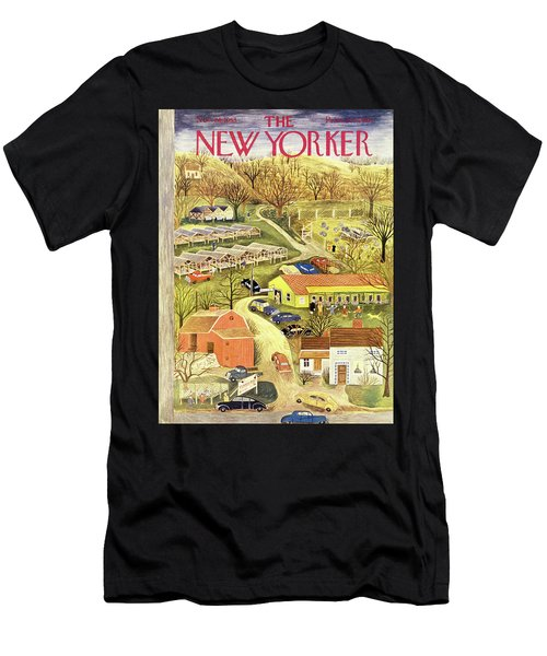 New Yorker November 28 1953 Men's T-Shirt (Athletic Fit)