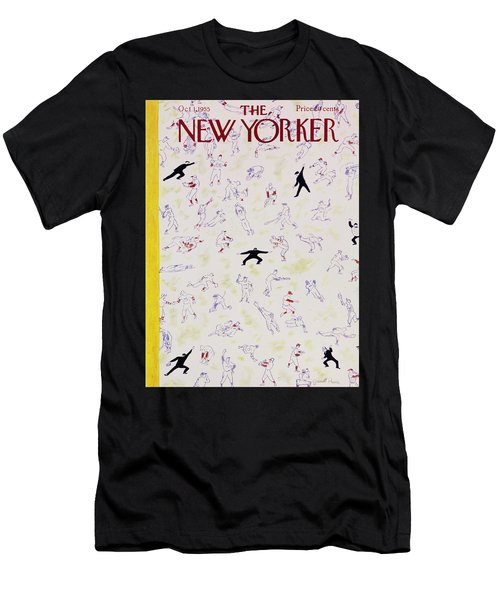 New Yorker October 1 1955 Men's T-Shirt (Athletic Fit)